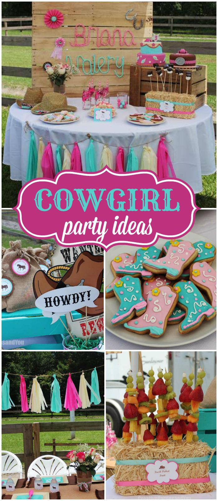Grab Your Boots Saddle Up And Check Out This Cowgirl Party See More Ideas At CatchMyParty