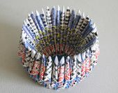Origami Paper Bowl - colorful and cheerful paper bowl