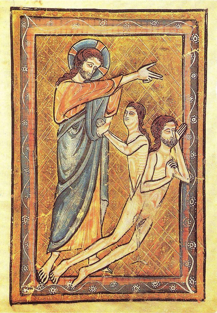 Adam Eve Medieval Paintings Medieval Art Adam Eve