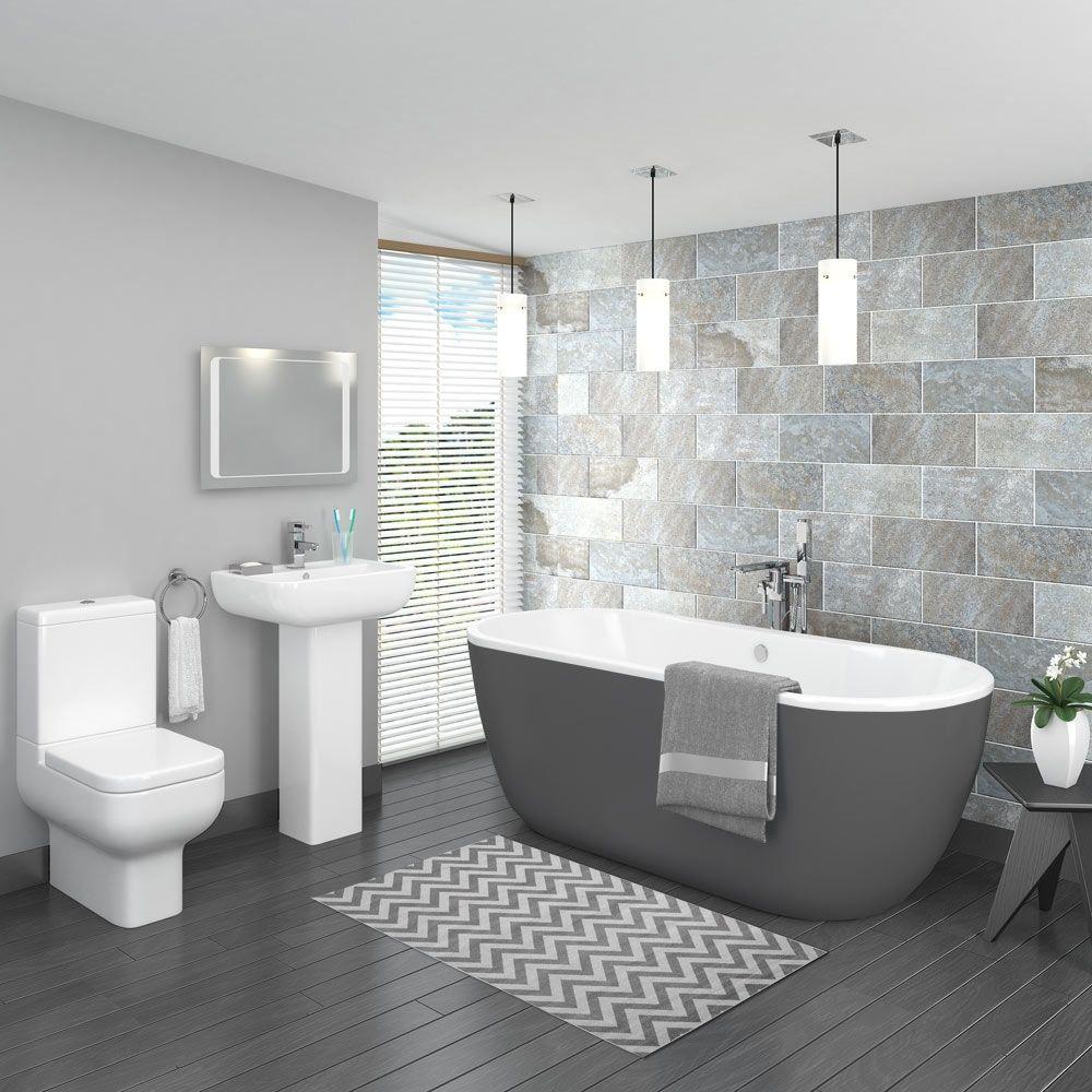 Most Amazing 12 Insanely Beautiful Bathroom Colour Ideas Uk Ij01fv4 Https Ijcar 2016 Kamar Mandi Modern Desain Interior Kamar Mandi Desain Kamar Mandi Modern Bathroom decor ideas uk