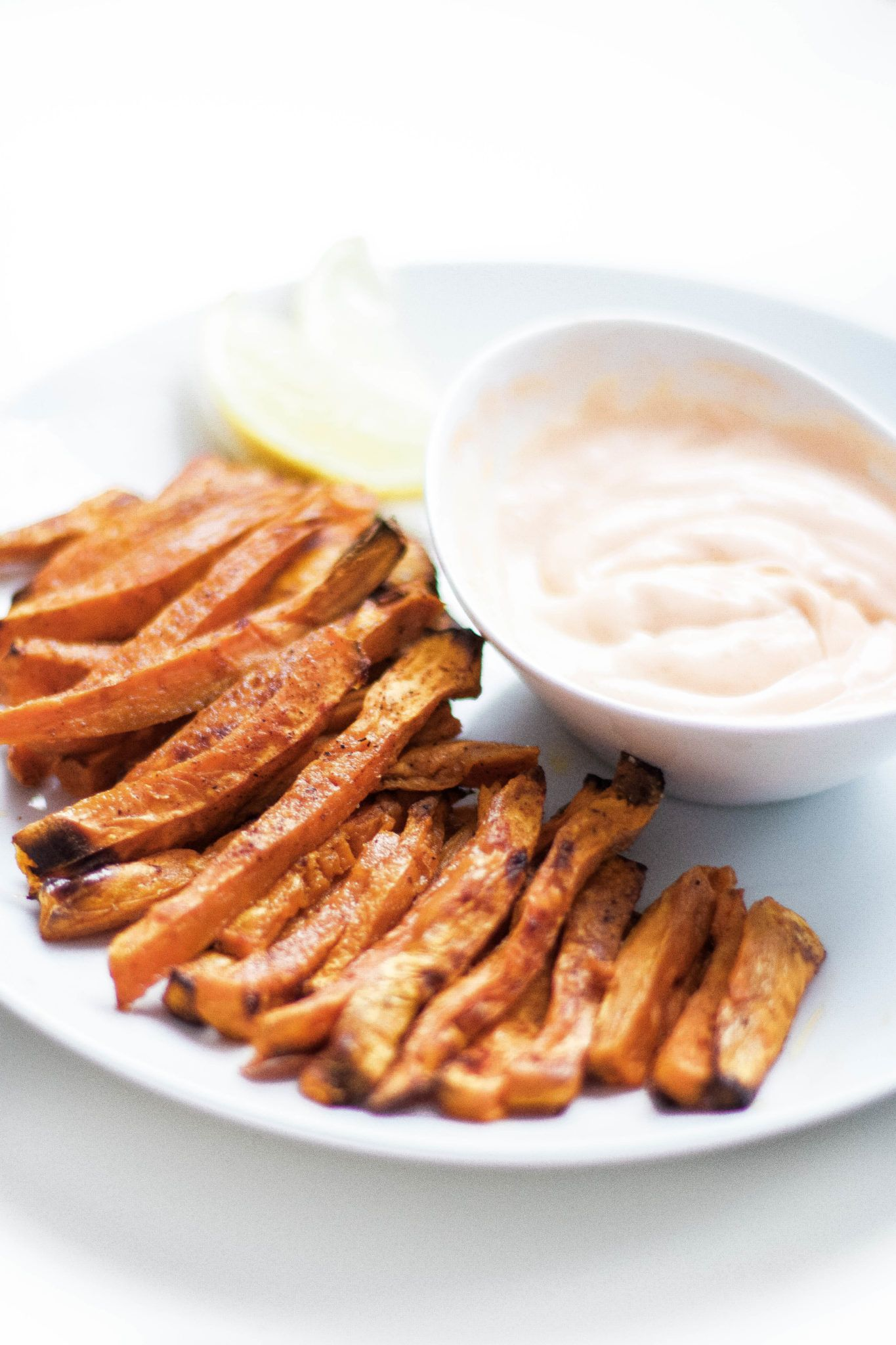 Crispy Oven-Baked Sweet Potato Fries (GF, Vegan, P