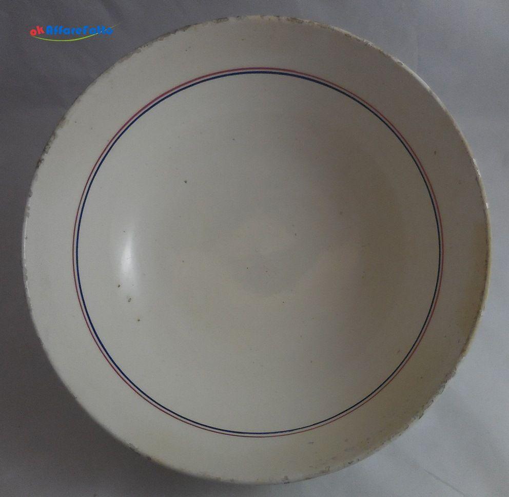 H 826 INSALATIERA IN CERAMICA VECCHIA MANIFATTURA RICHARD GINORI DIAMETRO CM 25 - http://www.okaffarefattofrascati.com/?product=h-826-insalatiera-in-ceramica-vecchia-manifattura-richard-ginori-diametro-cm-25
