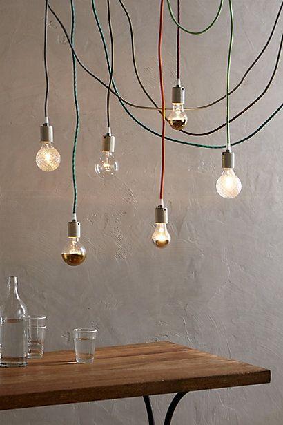 Pendant Lamp Fabric Cord Hanging Lamp Design Pendant Lamp Lamp