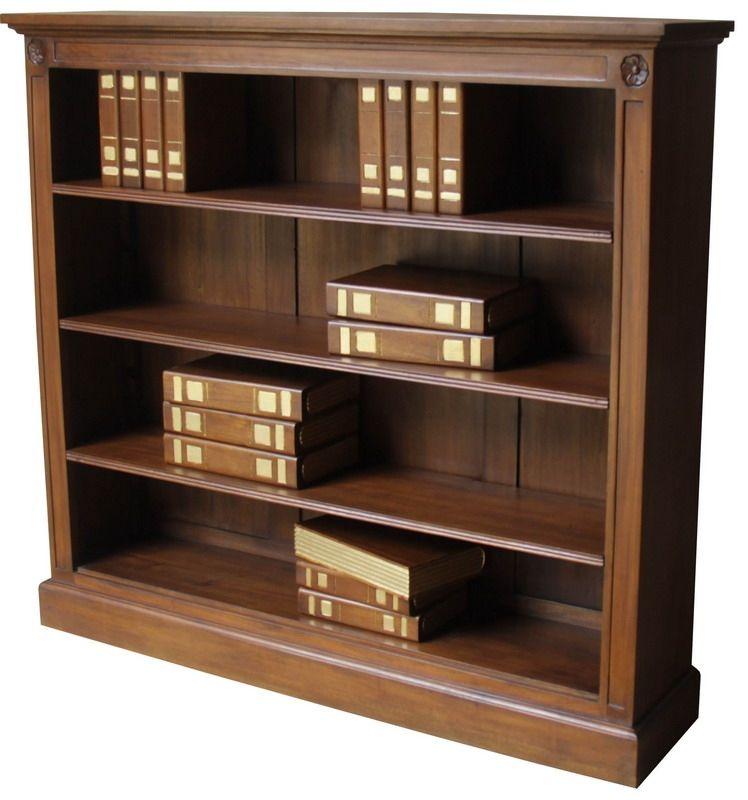 Low Wide 3 Shelf Bookcase Bcs030 3 Shelf Bookcase Bookcase Shelves