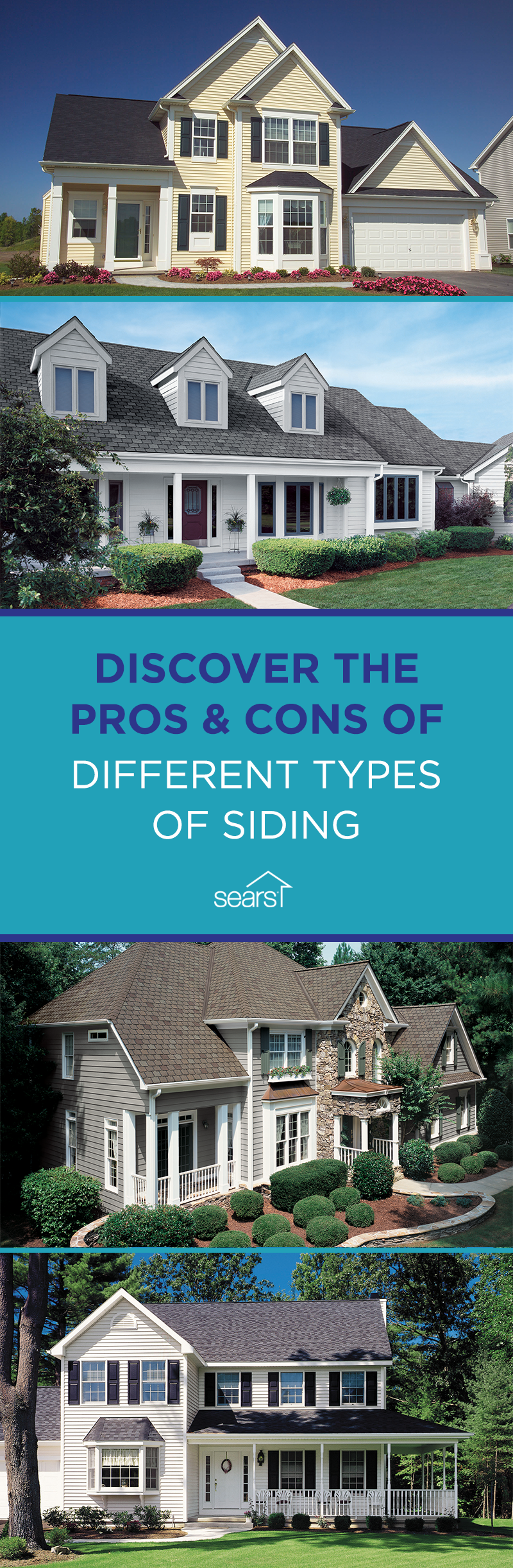 What Kind Of Siding Right For Your Home With So Many Different Options For Siding It Can Be Hard To Choose Which Is Right Types Of Siding Brick Siding House Siding