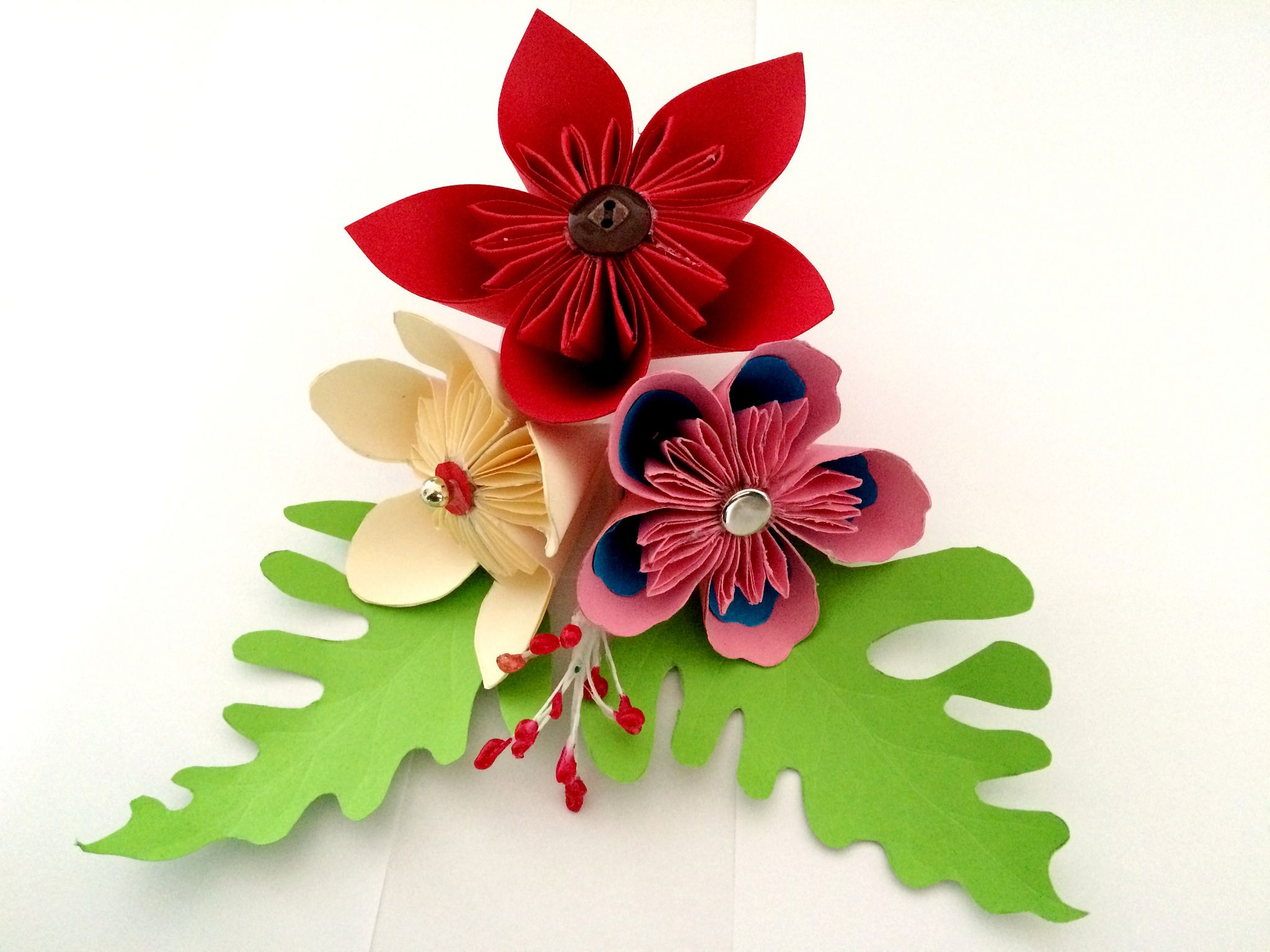 Different origami flowers image collections flower decoration ideas three different origami flowers for beginners as easy tutorials three different origami flowers for beginners as mightylinksfo Gallery