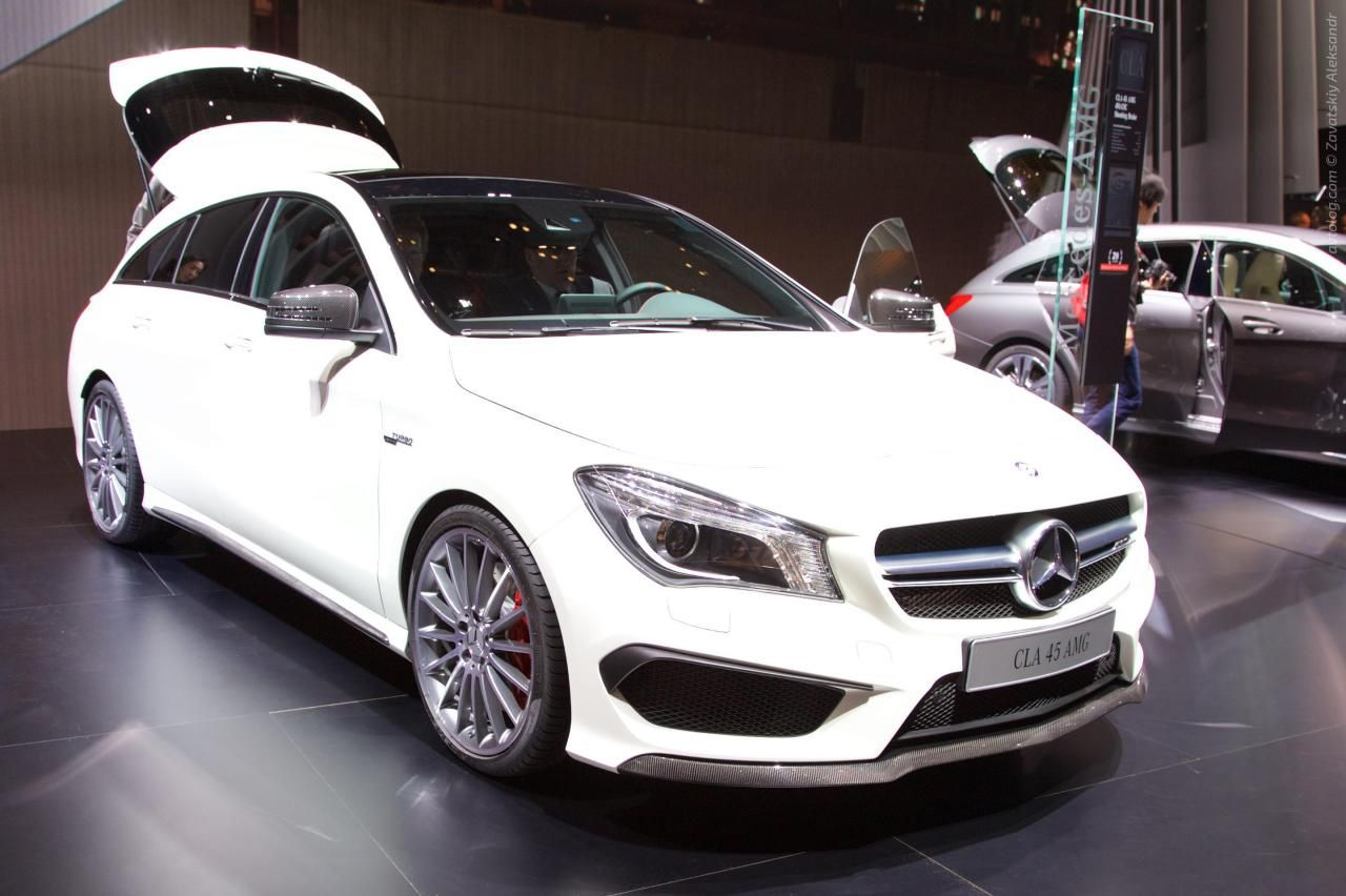 2015 Mercedes Benz Cla45 Amg Shooting Brake Geneva International