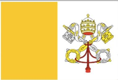 Flag Of Vatican City Vatican City State Is Governed As An