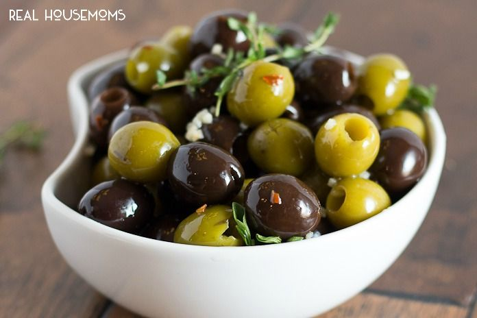 are garlic olives good for you