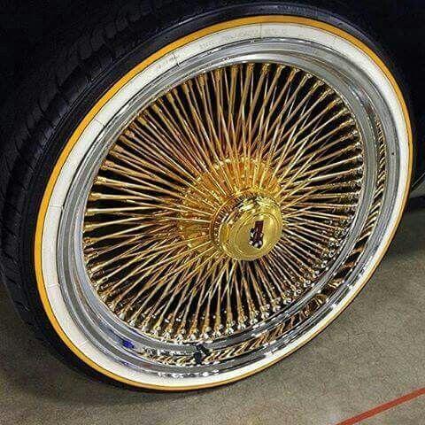 Daytona 100spokes Rims For Cars Wheel Rims Lowrider Cars