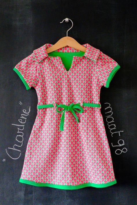 tutorial jurk met mouwen meisje - Google zoeken