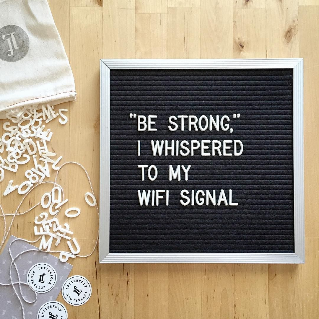 Take courage, dear router. letterfolkquotes Funny