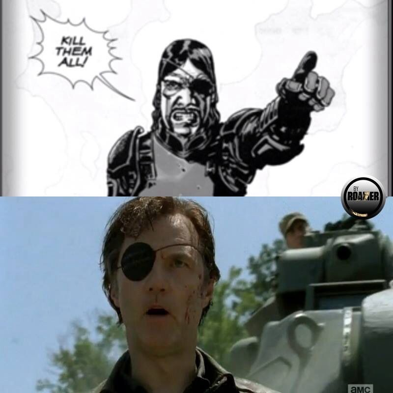 """Kill them all!""- The Governor"