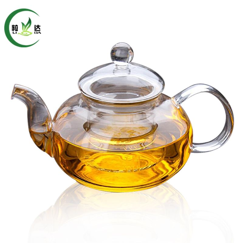 600ml Double Walled Glass Teapot With Infuser Filter Glass Kettle Green Tea Teapot Puer Tea Teapot Tea Pots Glass Teapot Double Wall Glass