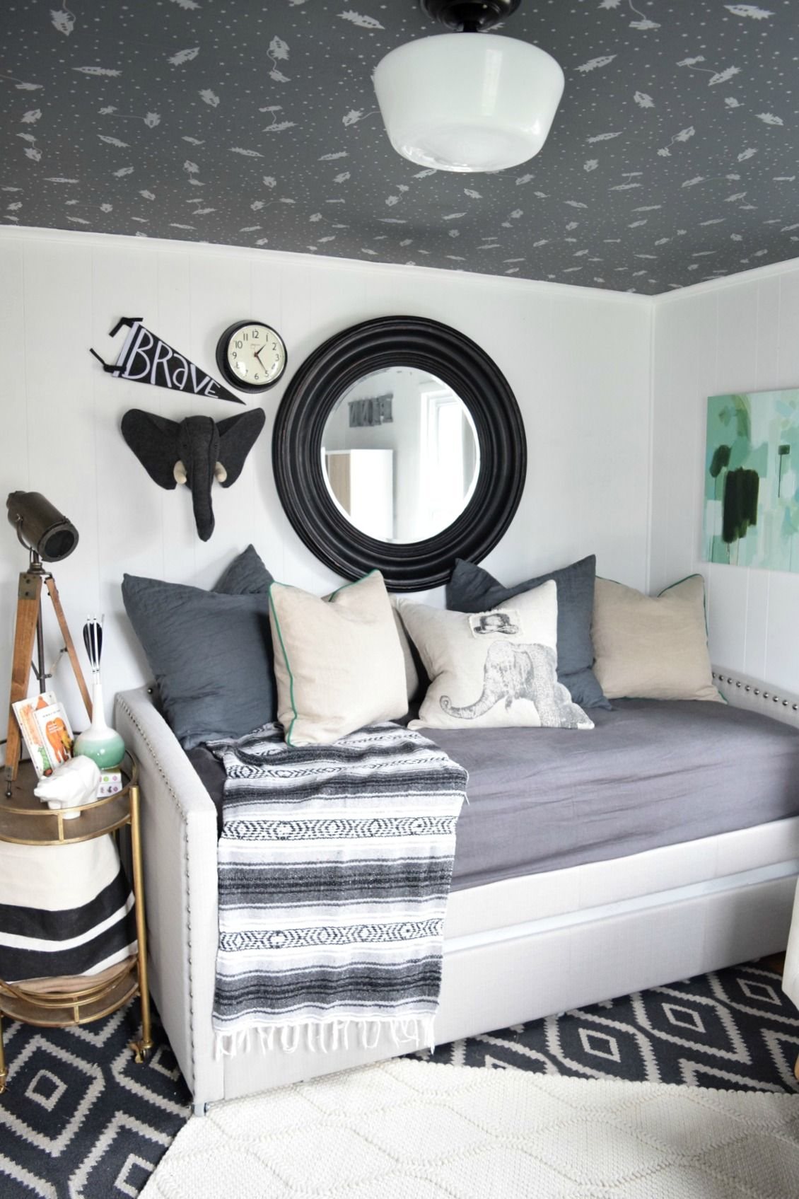 Toddler Playroom With Daybed