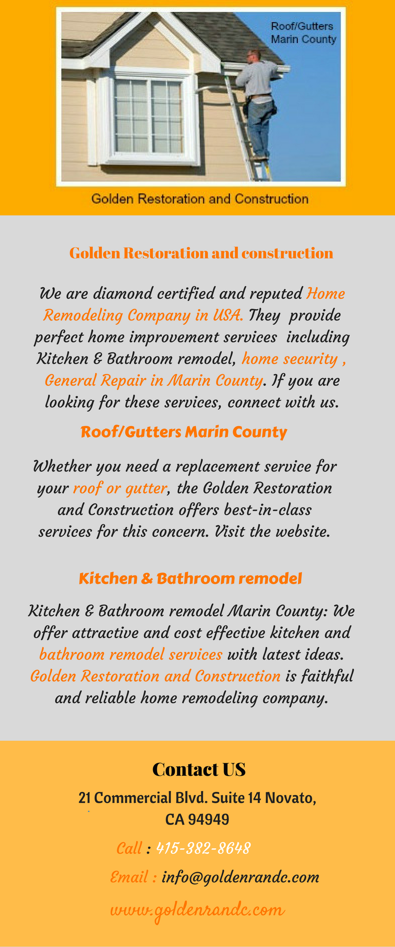 Golden Restoration And Construction Is One Of The Most Popular Home - Home remodeling companies