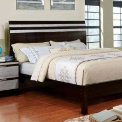 Brayden Studio Anamara Contemporary Sleigh Bed Size King
