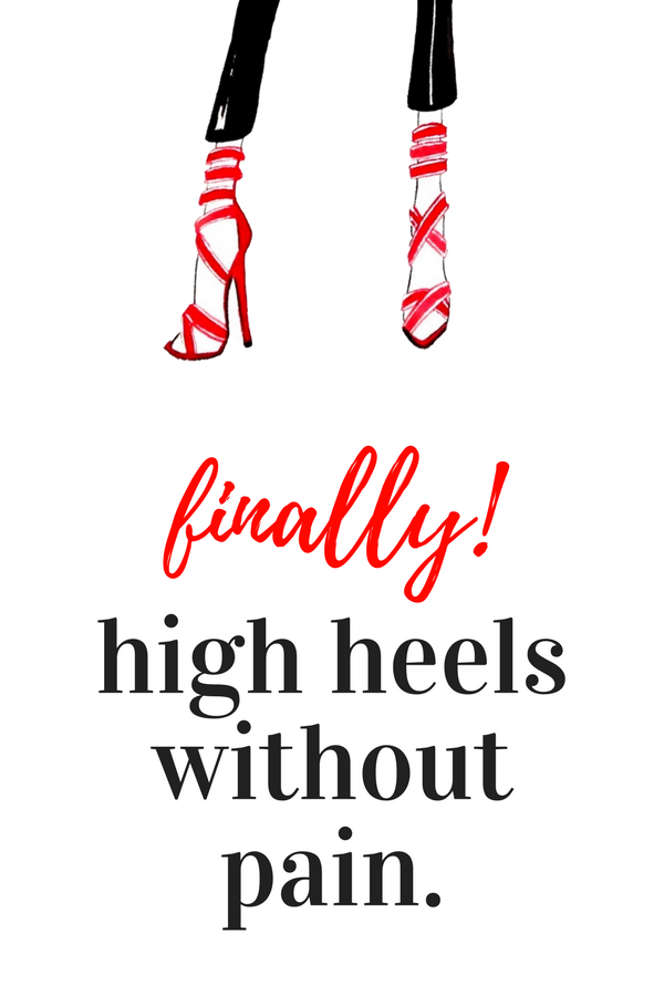 Pin On High Heels Without The Hurt  Vivian Lou Insolia -2369