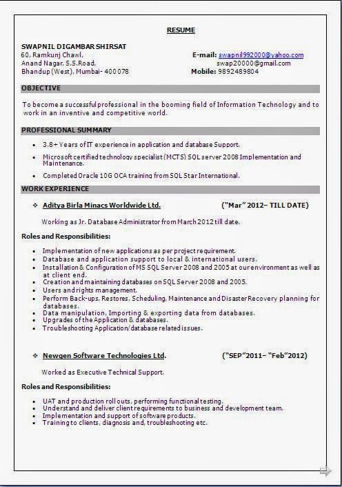 this is the best resume format \u2013 goodfellowafb