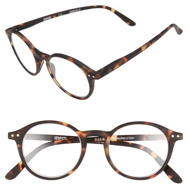8b86d087206 Women s Izipizi D 46Mm Round Reading Glasses ( 40) ❤ liked on Polyvore  featuring accessories