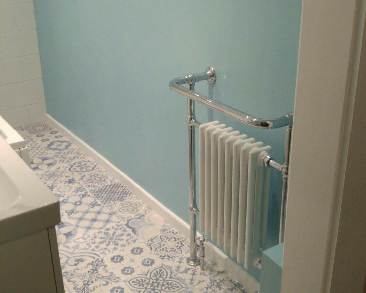 The finished product! Skyros Delft Blue Tiles, Bathstore Pool Bath ...