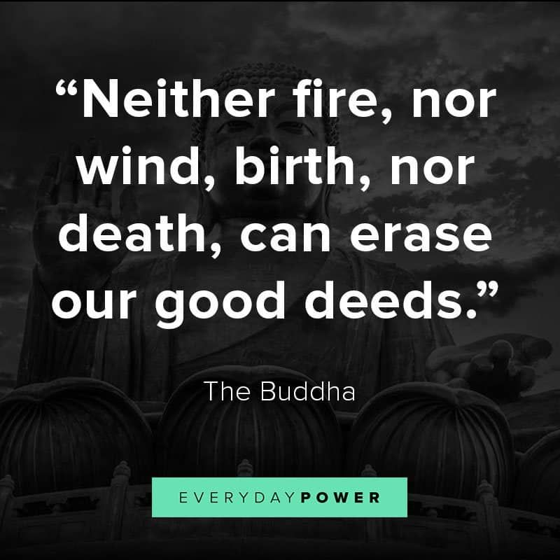 75 Buddha quotes about life, death, peace, and love