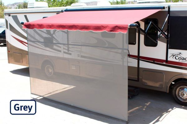 Vista Shade for Electric RV Awnings | Awning shade, Roll ...