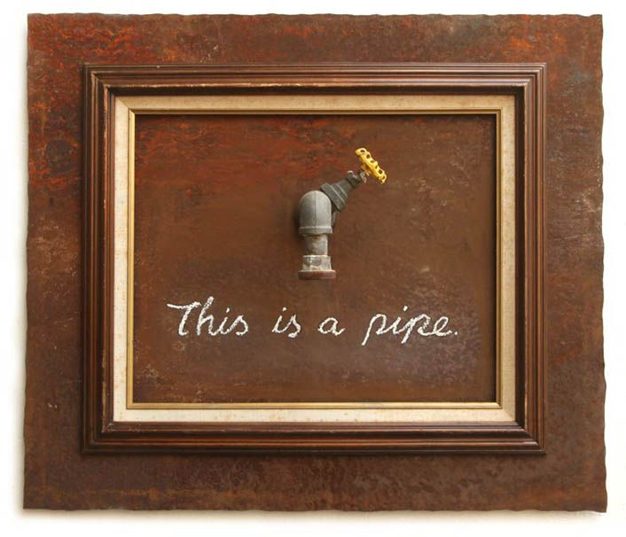 """This is a Pipe"", Banksy"