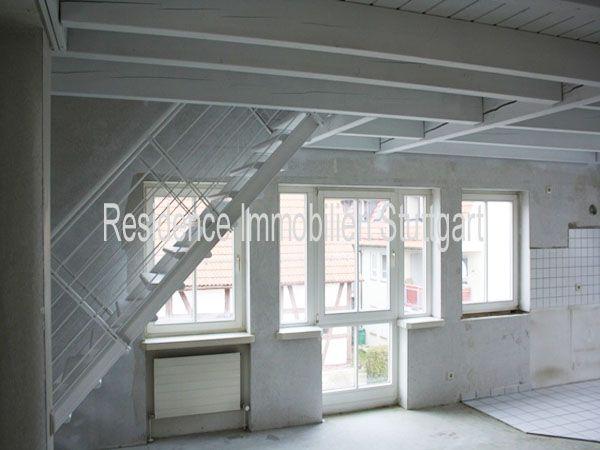 Eigentumswohnung kaufen in Herrenberg - Residence Immobilien - Kapitalanlage oder perfekte Wohnung für Singles - helle 1,5 Zimmer-Wohnung mit offener Küche