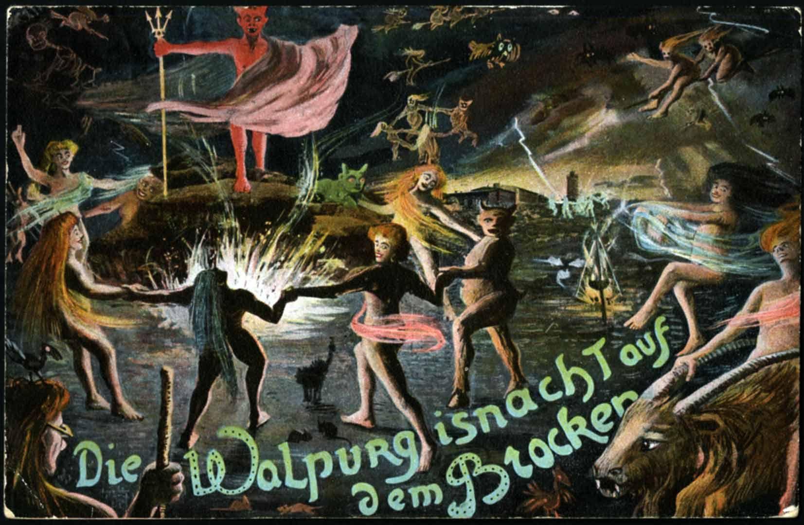 Walpurgis night orgy