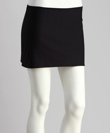 Take a look at this Black Stretch Sensation Hipster Half-Slip - Women by Little Black Dress Collection on #zulily today!