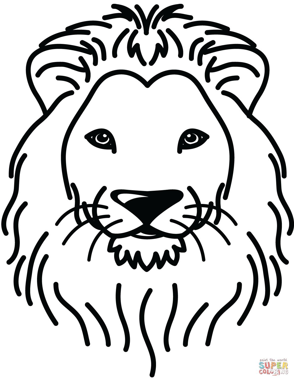 Lion Portrait Coloring Page Free Printable Coloring Pages Lion Coloring Pages Coloring Pages Printable Coloring Pages