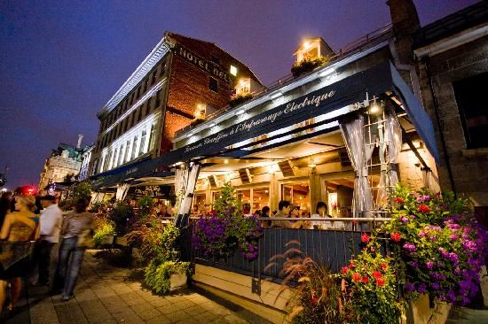 Welcome to Jardin Nelson, Vieux Montreal. Lovely terrace, good ...