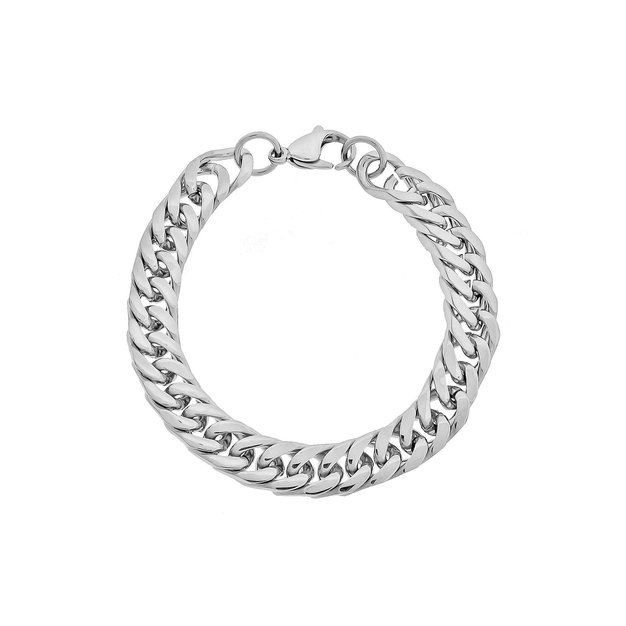 Kohlus lynx stainless steel curb chain bracelet men stainless
