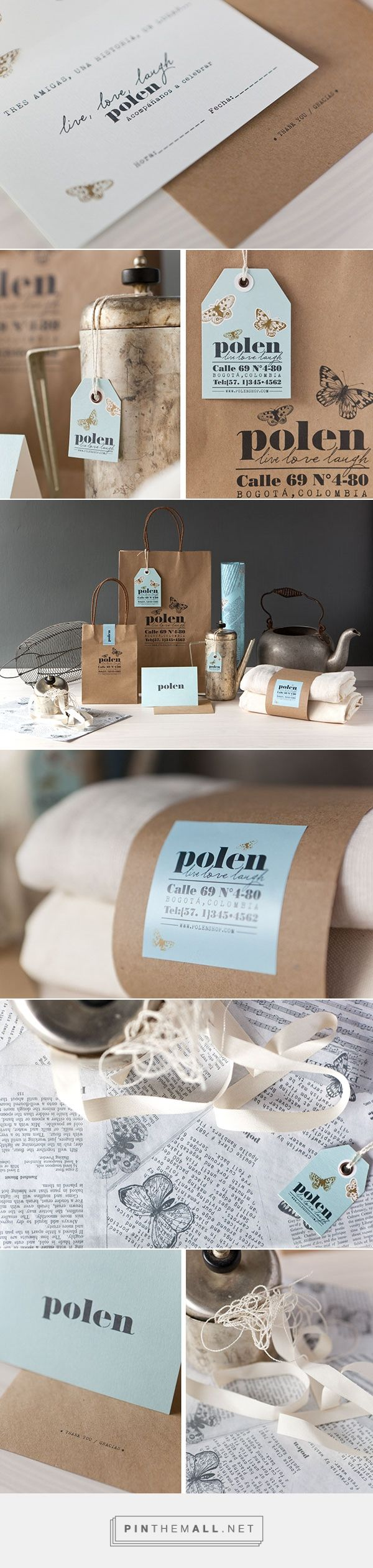Polen Branding and Packaging by Wallnut Studio on Behance | Fivestar Branding – Design and Branding Agency & Inspiration Gallery