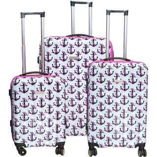 Karriage-Mate Anchors Hardside Spinner Luggage (Set of 3)