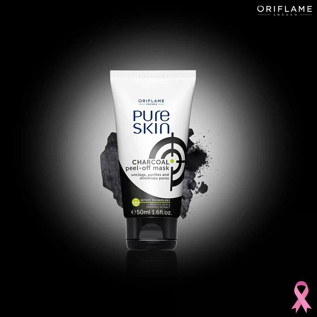 Purifica Tu Piel Con Pure Skin Peel Off Mask De Oriflame Oportunidades De Negocio Productos Oriflame Ganar Dinero Hoy