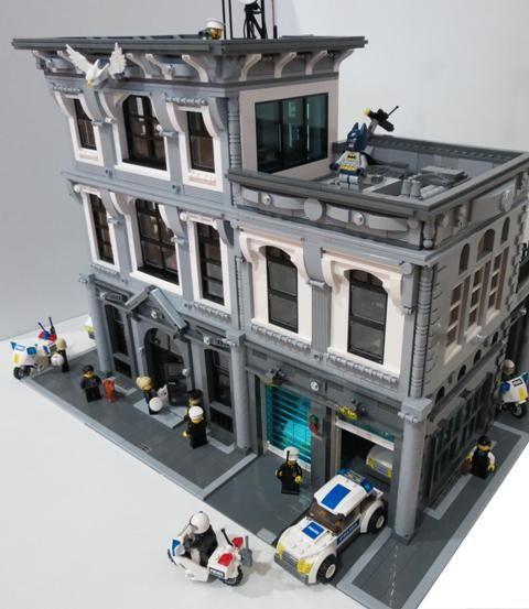 die besten 25 lego polizeistation ideen auf pinterest lego stadt spielzeug lego polizei und. Black Bedroom Furniture Sets. Home Design Ideas