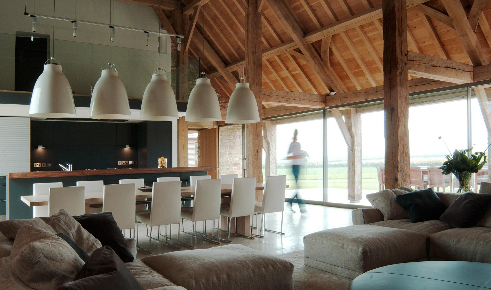 Barn Conversion In Cotswold By McLean Quinlan Architects Interiors 1