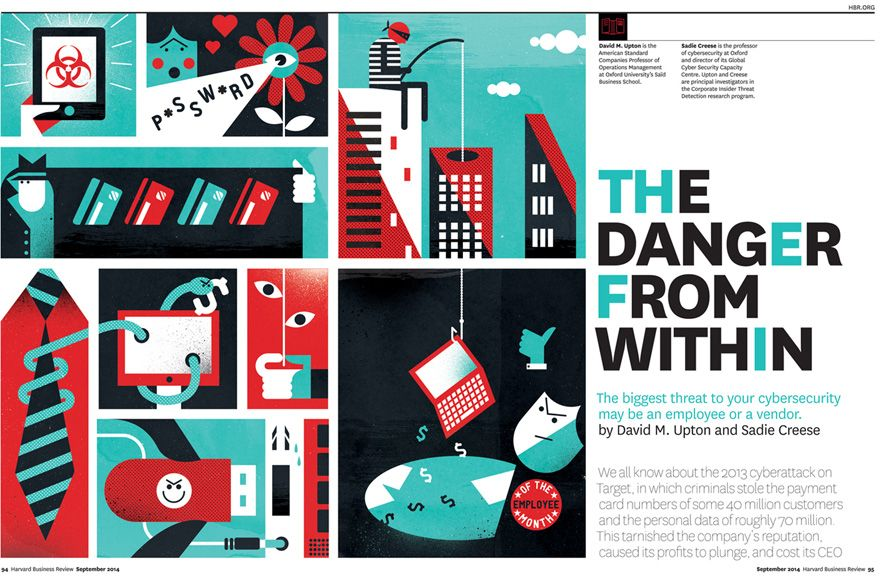 Harvard Business Review Dale Edwin Murray Illustration Illustrator