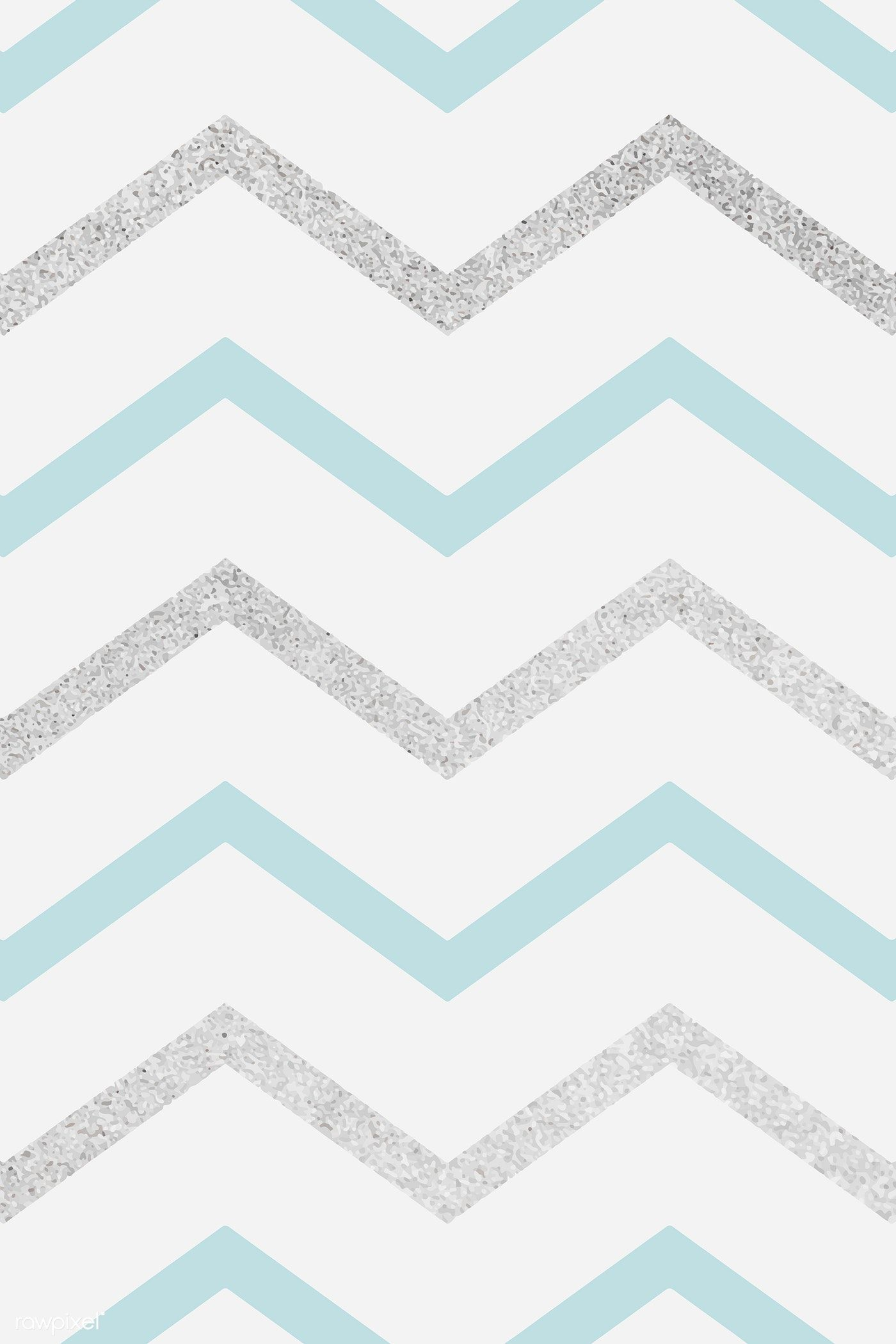 Download Premium Vector Of Blue And Silver Glittery Zigzag Patterned Sparkle Wallpaper Vector Patterns Design Background Patterns