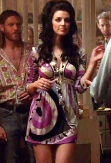 Megan Draper In Pucci Style Dress