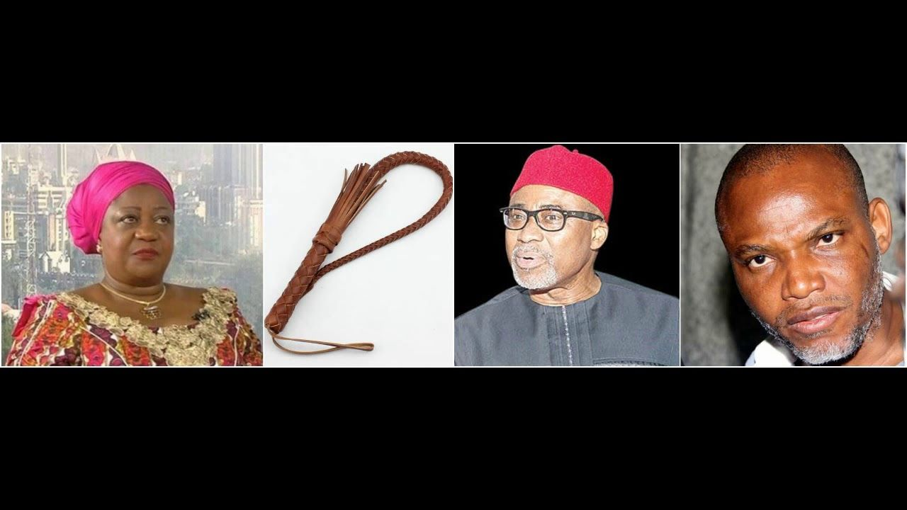 Lauretta Onochie To Enyinnaya Abaribe Produce Nnamdi Kanu Or Pay The Price In 2020 Produce Paying Price
