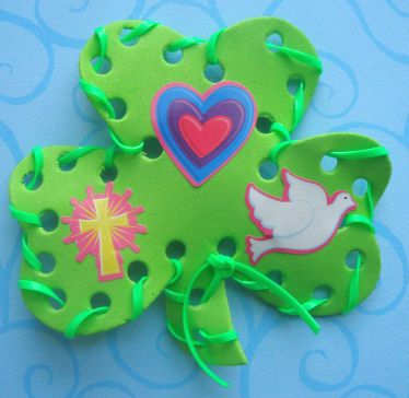 Religious Shamrock Craft for St. Patrick's Day