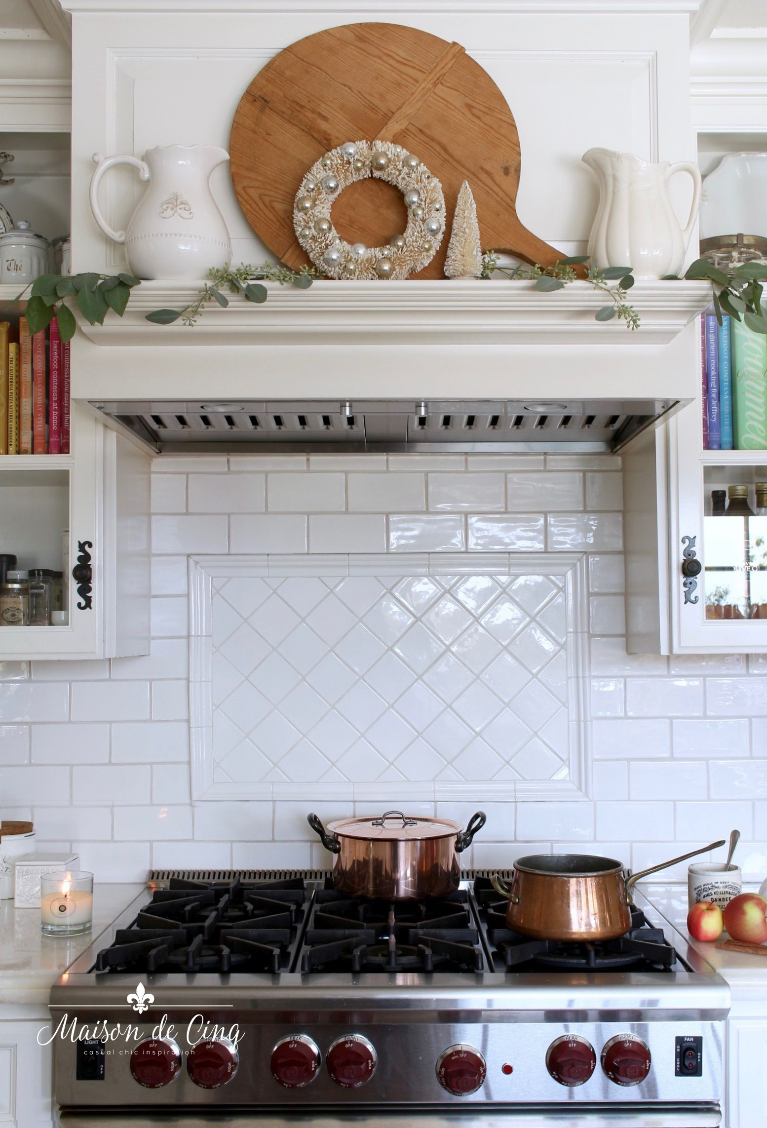Soft u romantic french christmas kitchen tour best home decor