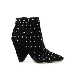 852d11c1be39f Roya Studded Bootie by Sam Edelman - Black Suede