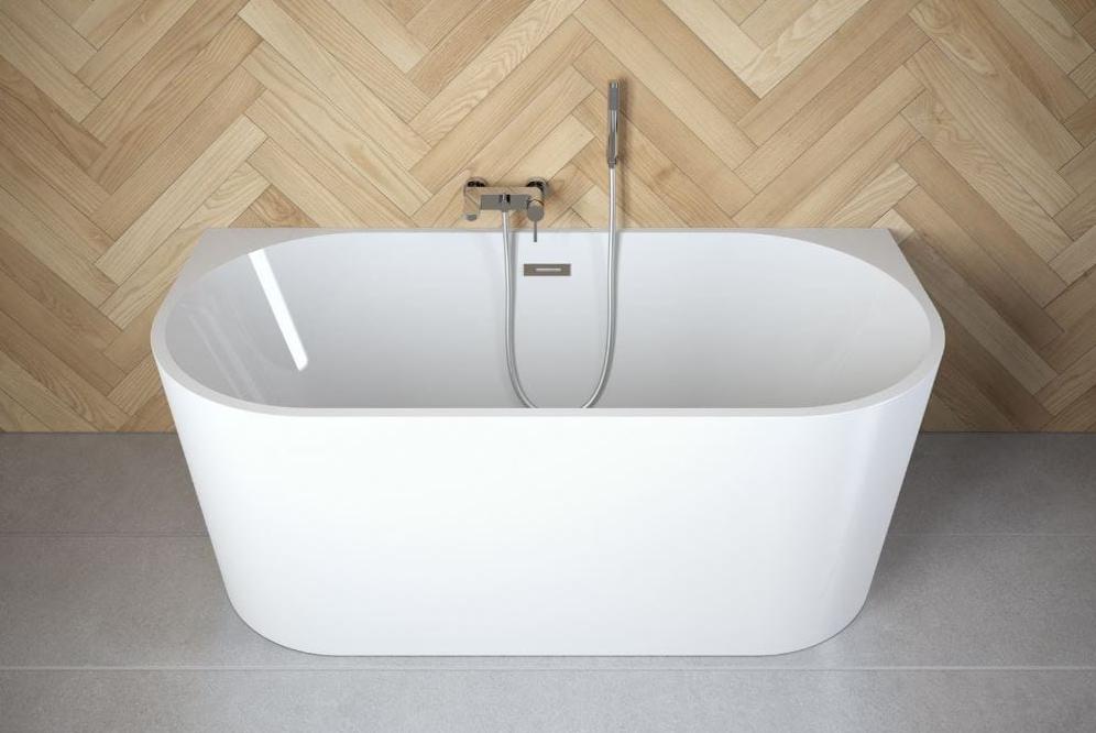Wanna Wolnostojaca Przyscienna 170x80 Cm Besco Vica 170 Bathroom Bathtub Home