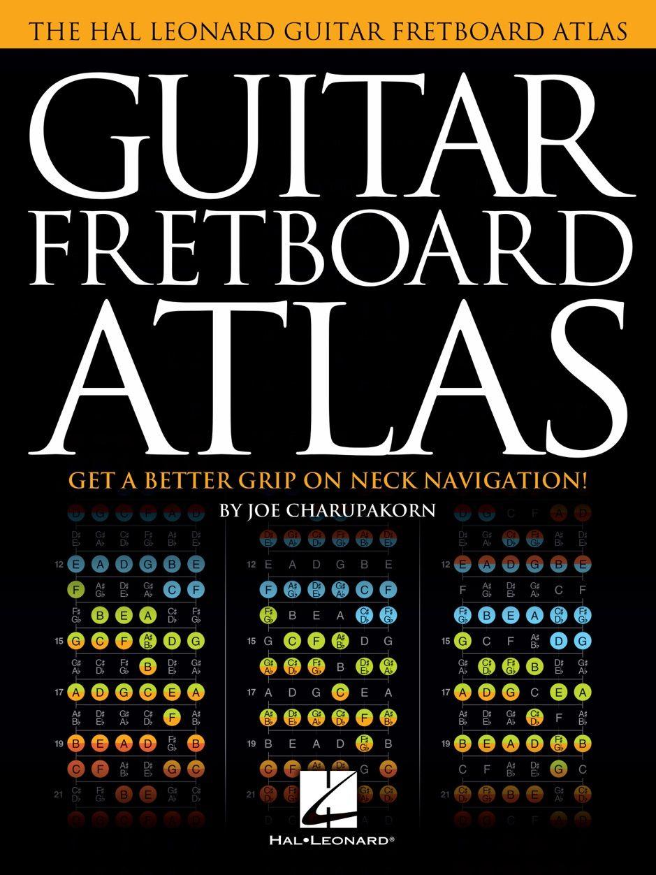Guitar Fretboard Atlas , sponsored, Atlas, books,