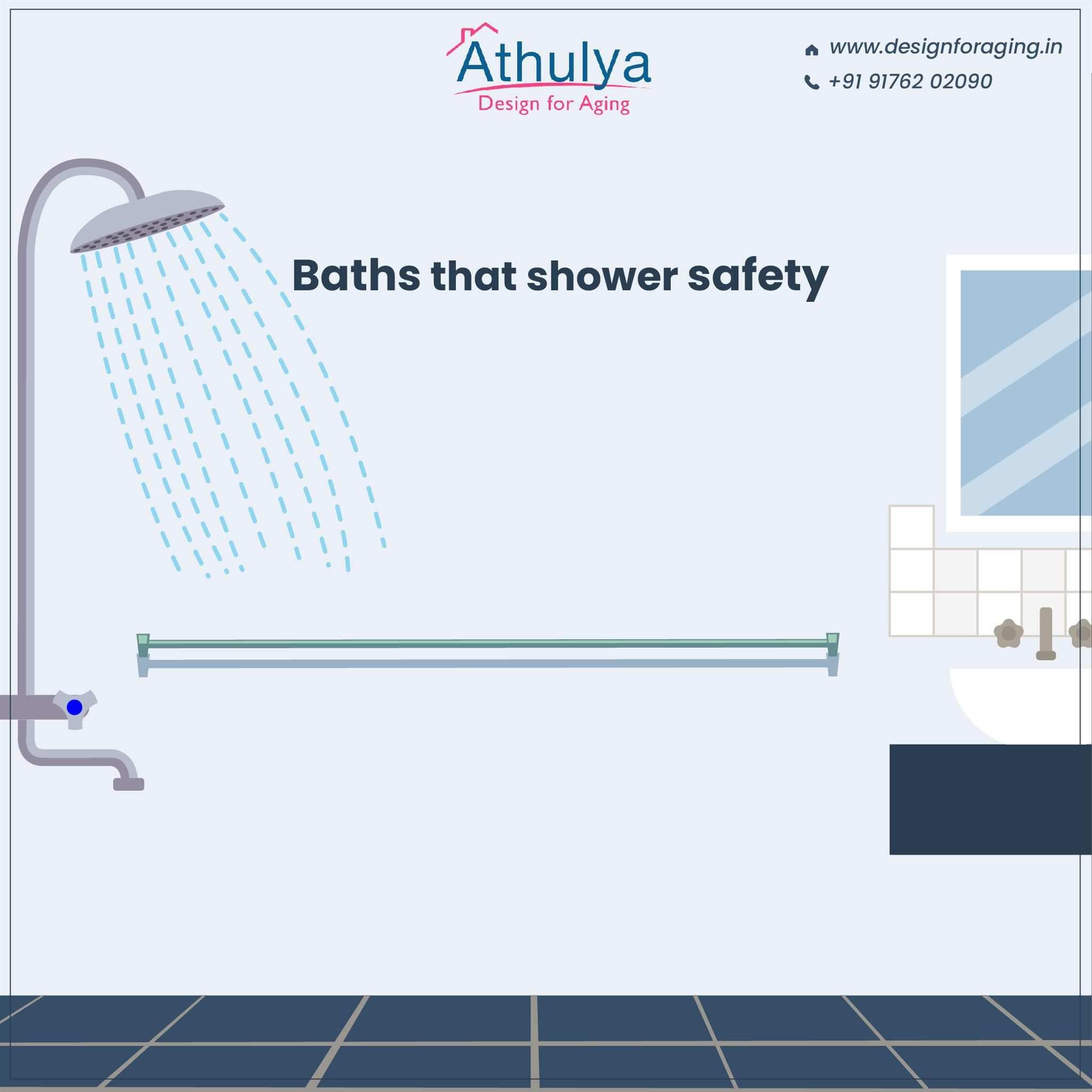 Senior-friendly Baths That Are Equipped With Good Grip For