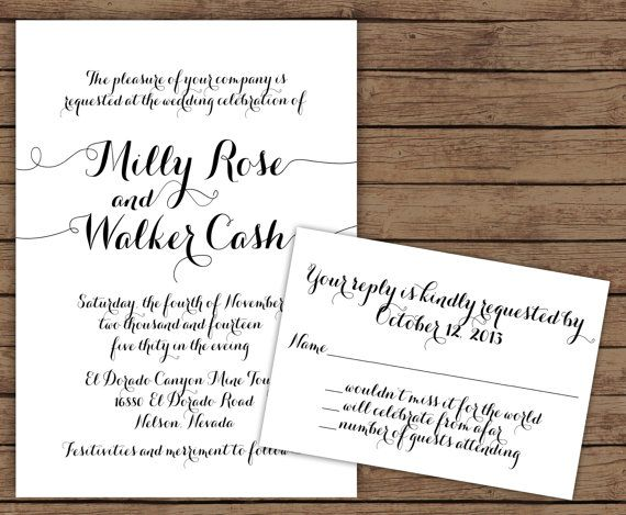 17 Best images about Calligraphy – Wedding Invite Calligraphy